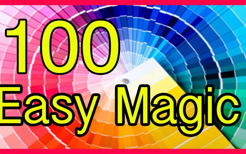 Compilation  Easy Magic Tricks Revealed Tutorial 100