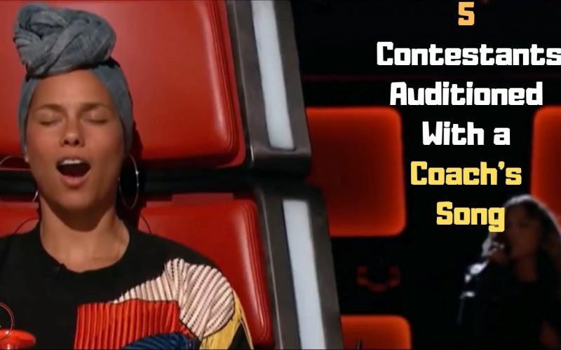 5 Contestants On The Voice Who Auditioned With a Coach's Song | Top Best Talent