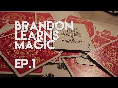 I'M LEARNING MAGIC IN 3 MONTHS! Ep.1