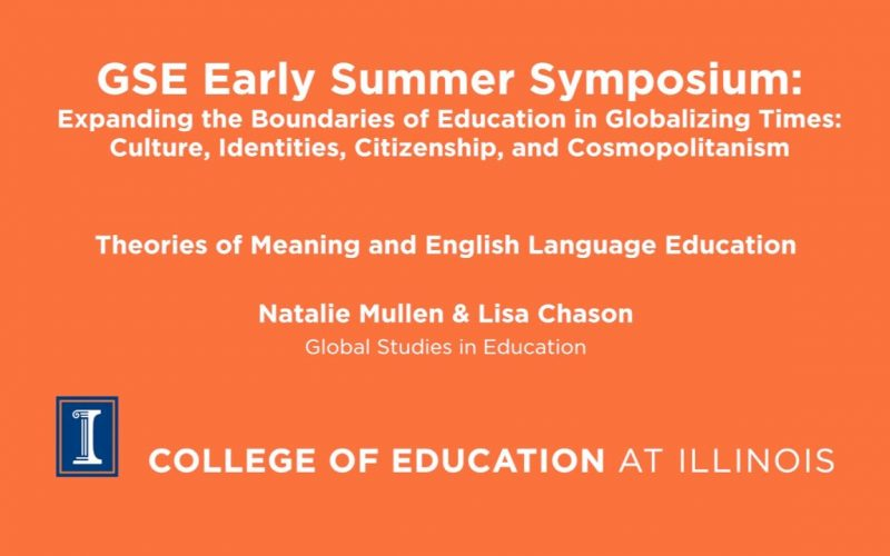 Theories of Meaning and English Language Education