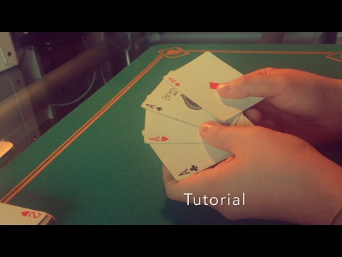 CARD MAGIC | Twisting the Aces - Dai Vernon (Tutorial)