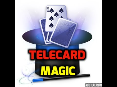 MAGIC VIDEOS #539 I DIGITAL MAGIC TRICKS I TELECARD I MAGIC VIJAY