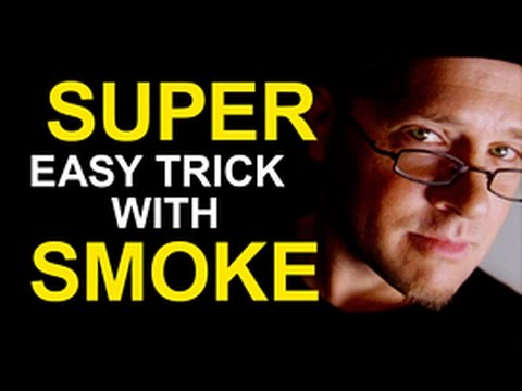 FREE MAGIC: APPEARING SMOKE TRICK