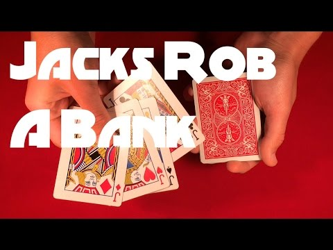 The Jacks Rob a Bank | Cool Card Trick