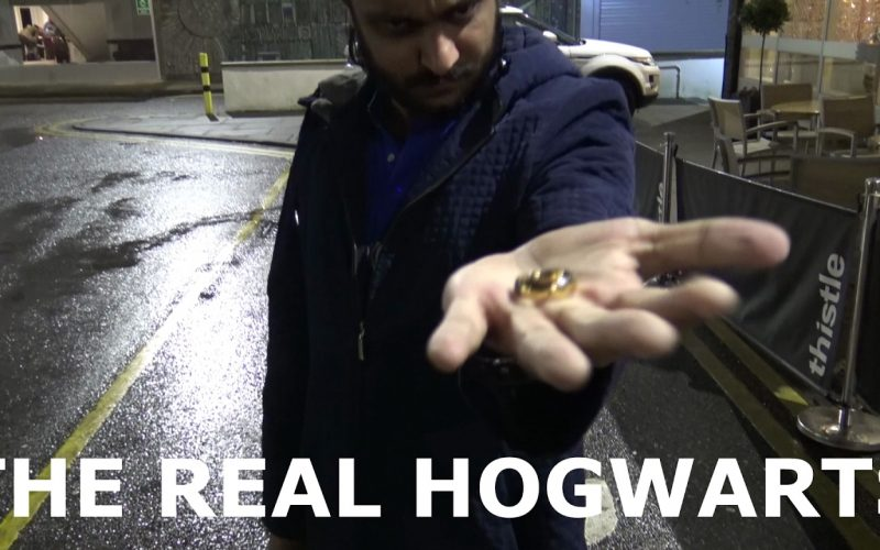 How professional magicians learn magic -   The Real Hogwarts - Christian Wedoy Vlog