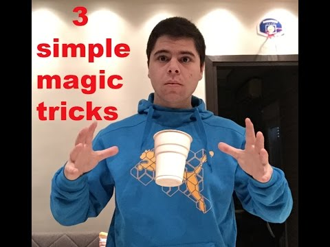 learn 3 simple magic tricks ( amaze anyone!)