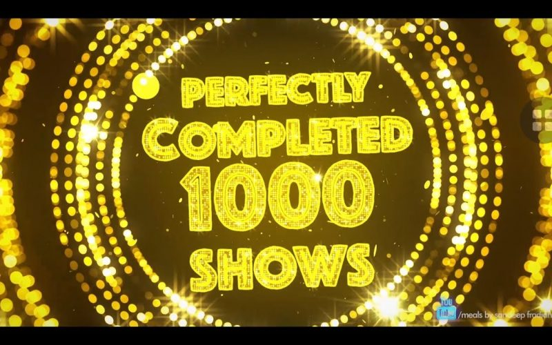 Completed Milestone of '1000' Golden shows || Mind Invasion || Magic Planet || Mentalism Show ||