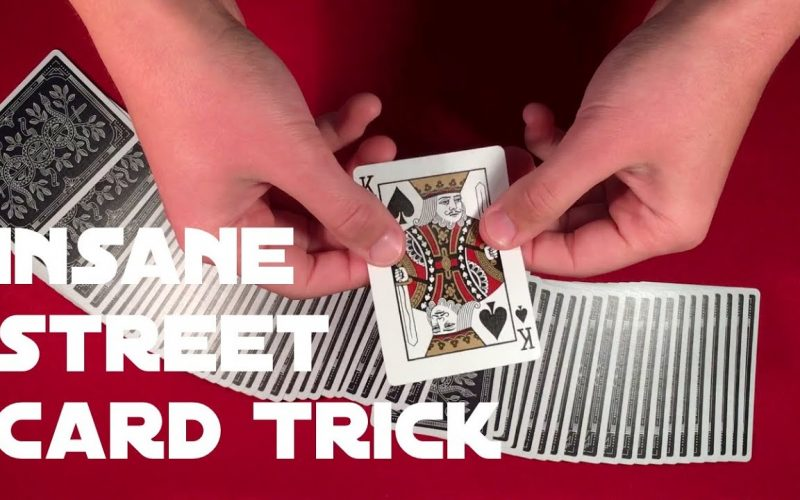 Absolutely Insane David Blaine Card Trick Tutorial!