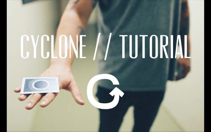 CYCLONE // TUTORIAL (Card flick & Magic trick)