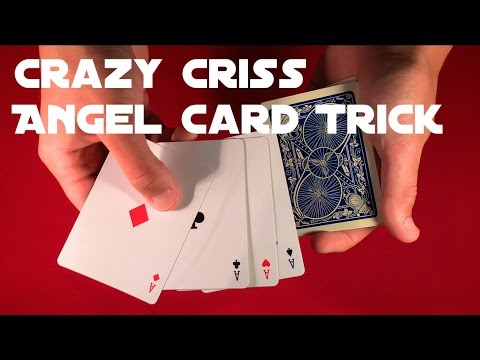 Craziest Criss Angel Card Trick Tutorial!